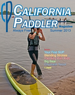 cover for the current issue of California Paddler Magazine